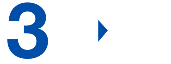 3CX Logo white